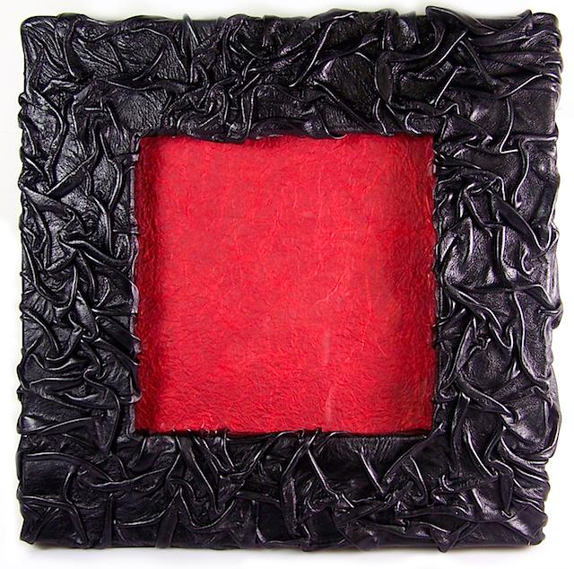 Crinkle Leather Frame (A 2011 NICHE Award Winner)